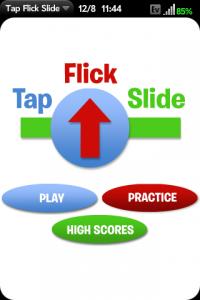 TapFlickSlide